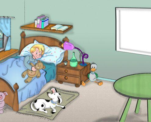 Pintar cuartos de niños - Blog Pinturas Noroeste - Pintores en Madrid y alrededores