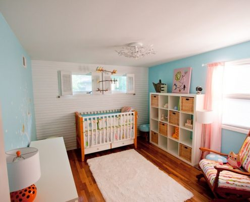Ideas para pintar la habitación del bebé