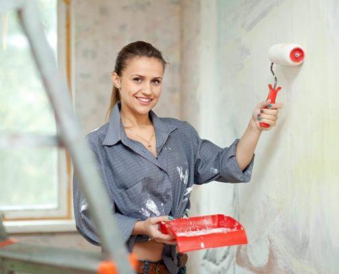 Cambiar el aspecto de tu casa con una mano de pintura